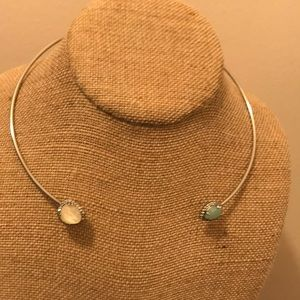 Bianca open collar necklace
